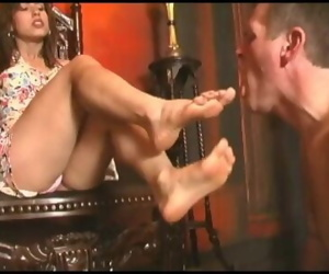 Dominant Latina Foot Goddess