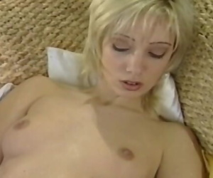 90s german blond television girl - x rated DVD version