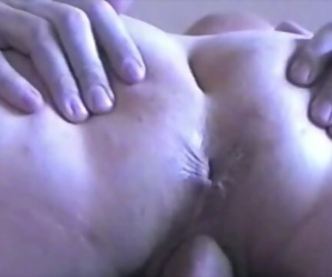 Married Couple Missy and George Vintage Sex Tape - Creampie
