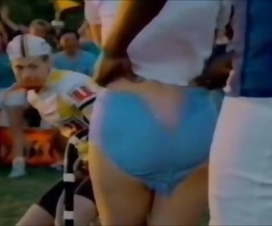 ENF: Cheerleader From Zapped Again! Loses Shorts During Game