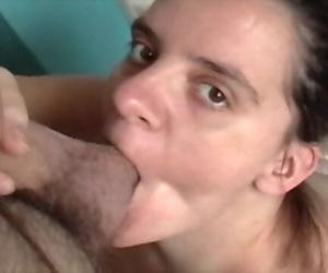 Pregnant Missy Sucks Uncut Cock For Huge Facial