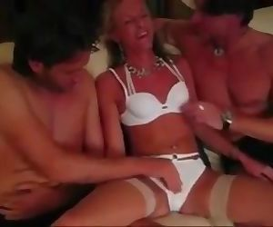 Belgian party girl