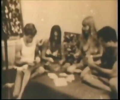 Group Play Strip Poker.