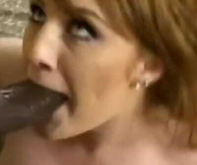 Interracial MILF Time Blowjob