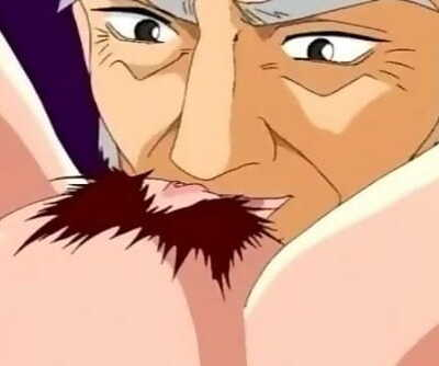 Nasty Anime Girl Fucks with Older Man