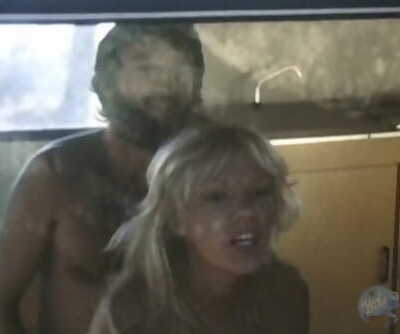 He is Cuckolded by Sexy Blonde in a Trailer