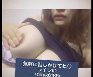 japanese kyonyuu boin gal nama..