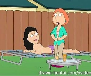 Family Guy Hentai - Backyard..