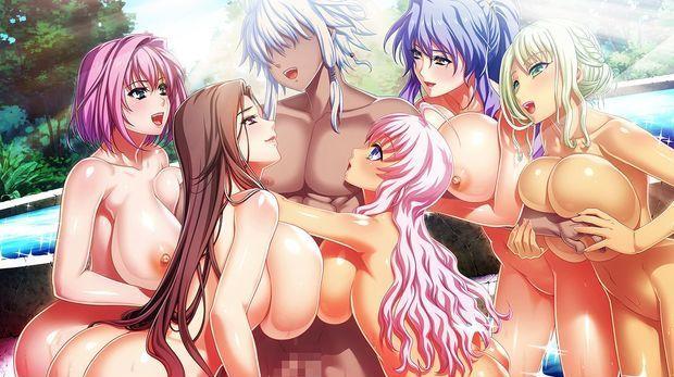 Hot busty hentai babes