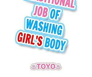 Traditional Job of Washing Girls..