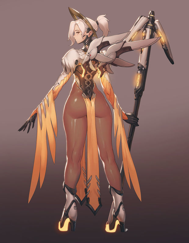 Mercy Sexy Back by Instant IP