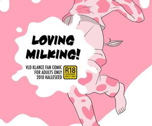 Halleseed LOVING MILKING!..