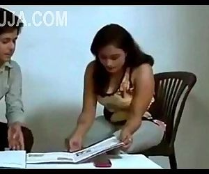 Tution Teacher Sexy Romance with boobs press -- bhauja.com - 3 min