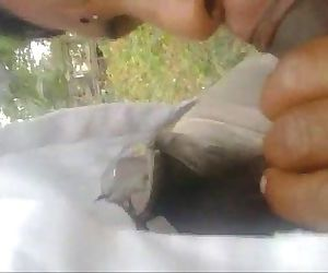 indian maid blowjob cumshot outside - 2 min