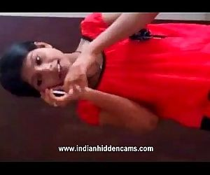 young sexy indian teen stripping naked while taking on the phone - 1 min 11 sec