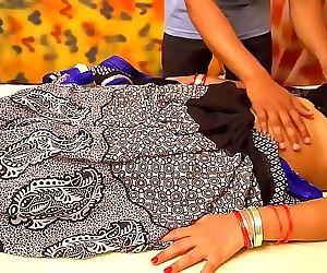 Desi Pari Bhabhi Big Boobs Massage in Parlour 10 min HD+