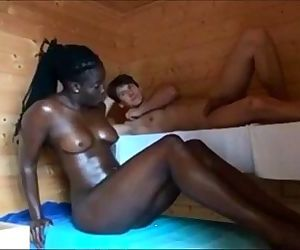 Swingers Invite a Black Babe Video - 6 min