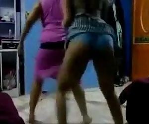 indian arab amateur dancing - 3 min