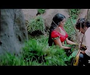 Hot Romantic Saree Removal in Jungle - Bhauja.com - 2 min