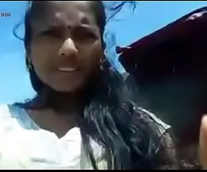 Indian teen outdoor in salwar - 24 sec