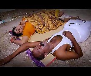Desi Indian big boobs aunty fucked by outside man! 4 min HD