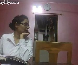 Indian Aunty Sex Horny Lily In Office - 10 min HD