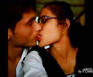 indian school girl kissing