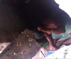 indian bhabhi taking shower in open recorded by neighbor - 1 min 4 sec