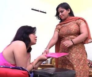 Indian Desi Lesbian MILF Aunties