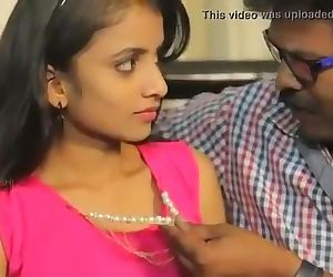 Desi Cute Teen Girl Romance with Old Teacher Young Old Indian - DesiGuyy