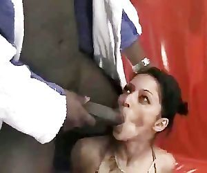 Exotic Paki Dancer seduced by Big Black Dravidian Penis of Madrasi Goonda