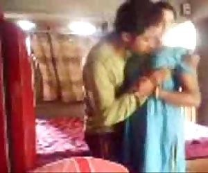 Horny Bengali wife secretly sucks and fucks in a dressed quickie, bengali audio - 4 min