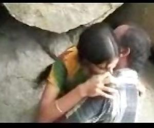 Desi Outdoor couple - 6 min