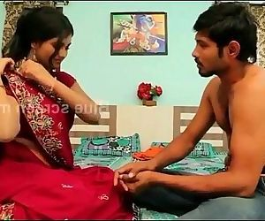 game of romance//indain beautiful housewife remove saree - 9 min