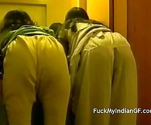 Indian College Girls Nude In Bathroom Getting Fucked - 8 min