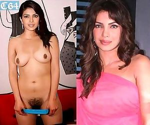 Priyanka Chopra - photo compilation of fake nude pictures - 8 min