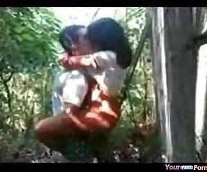 Desi girl fucked in jungle - 5 min