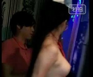 Chinese slut rubs her butt to young guys cock - 1 min 18 sec