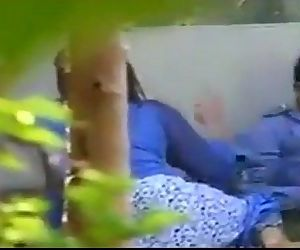 North Eastern Indian kinky couple enjoy outdoor sex in park.MP4 - 1 min 43 sec