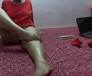 Foot Fetish Indian Babe Lily - 4 min HD