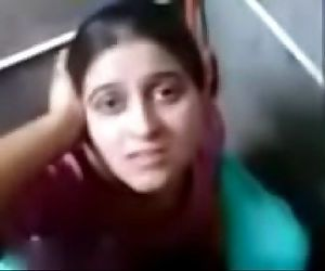 punjabi girl komal giving hot blowjob in toilet and making her boyfriend cum - 3 min