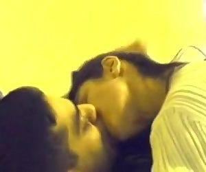 Desi north Indian gf long kiss and sex - 20 min