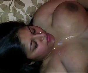 Indian desi janani getting fucked and eating cum - 7 min