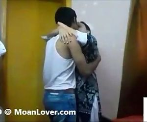 Sexy Indian Couple Hardcore Kissing - 3 min