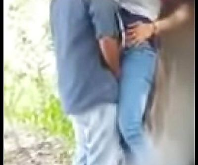 delhi college couple fucking in the park - 2 min