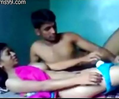 Lovely Young Skinny Desi Girl Fucked Hardcore by her Young Skinny Boyfriend, Homemade, Amateur, Cam 14 min