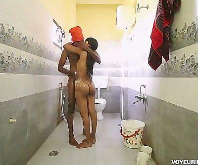 Tamil Indian Girl Fucked In Bathroom 1 min 2 sec HD+