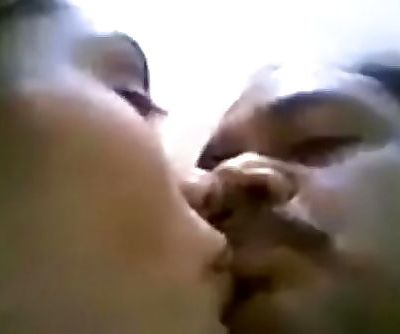 Young indian girl with uncle kissing 3 min