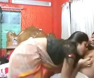 Indian Bengali Horny Amateur Couple Homemade Sex in front of cam full video 41 min