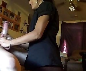 blowjob deep throating gagging lumbee queen by white feather. 3 min